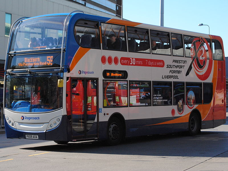 #AYearOfBuses 59: Preston – Blackburn