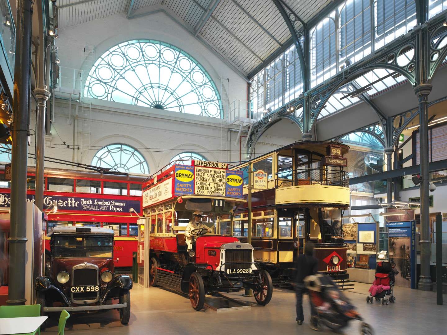 London Transport Museum throws open the doors to Acton Depot to celebrate Capital Design