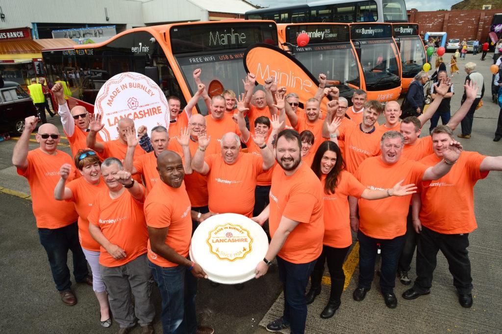 Transdev Blazefield : The Big Burnley Bus Bash 2017