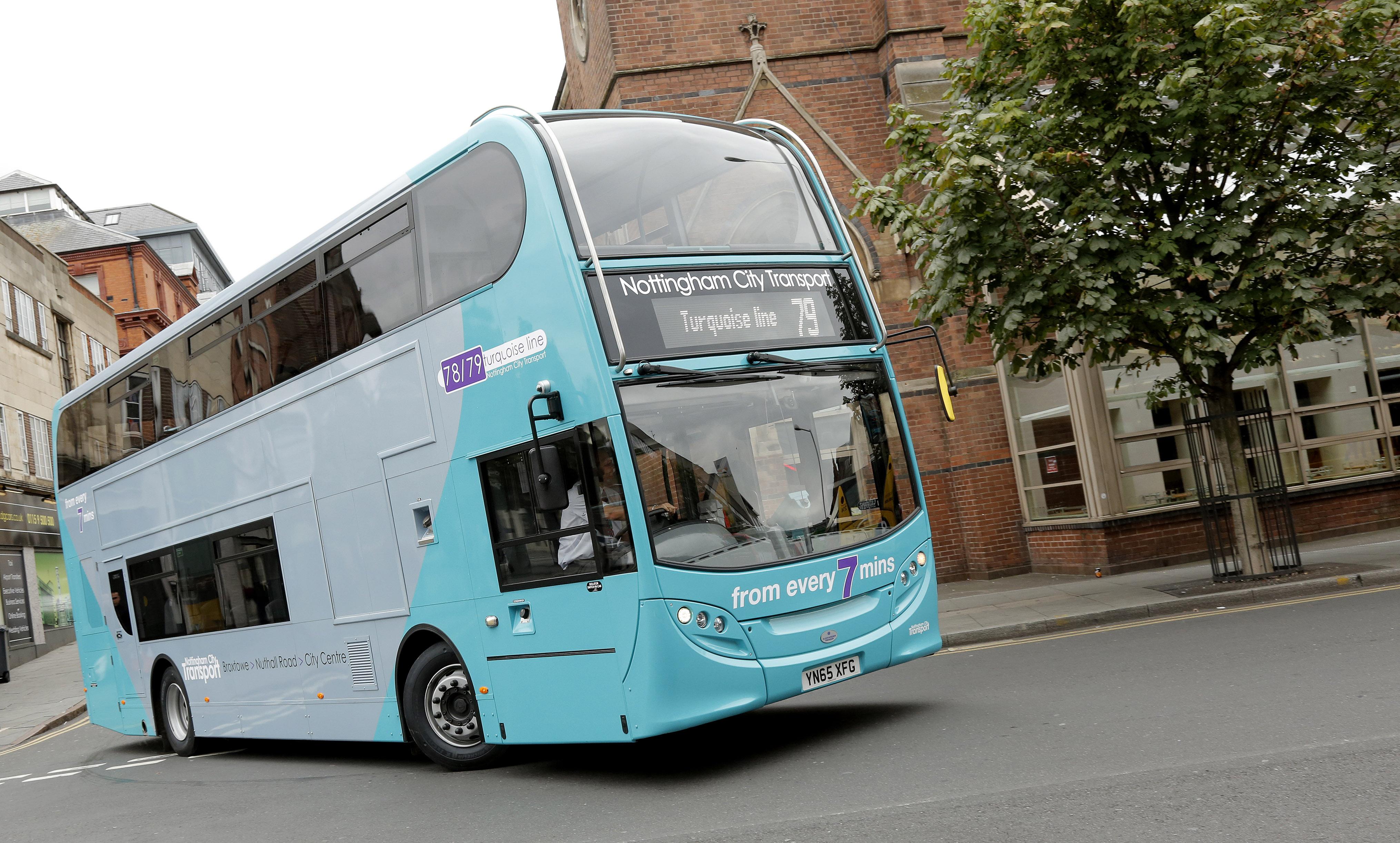 Photo courtesy of Nottingham City Transport