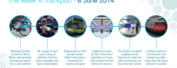 The week in transport, 8 June 2014