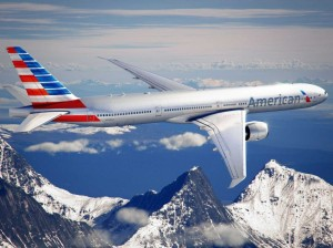 American Airlines new livery and logo