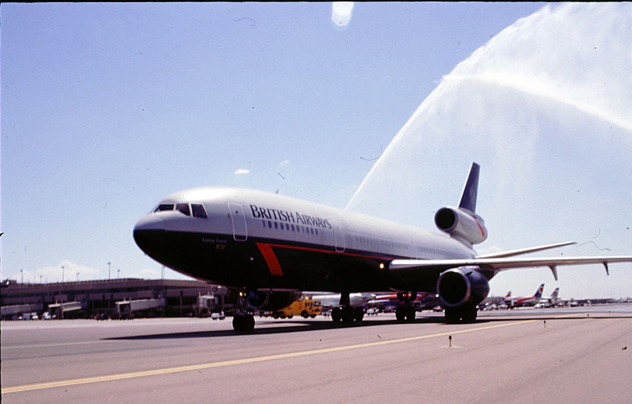 Cleared for Landor: British Airways continues centenary celebrations