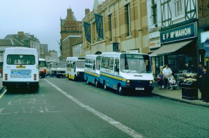 The height of the Darlington bus war saw clapped-out Ivecos operating under the 'Your Bus' brand.