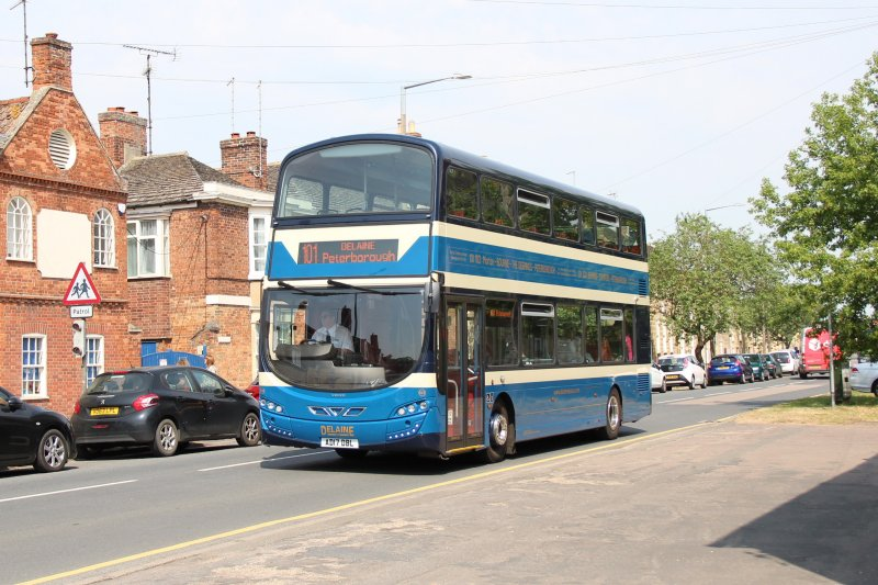 #AYearOfBuses 101: Peterborough – Morton