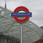 Underground roundel at KGX