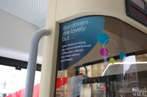 Our drivers are lovely but...