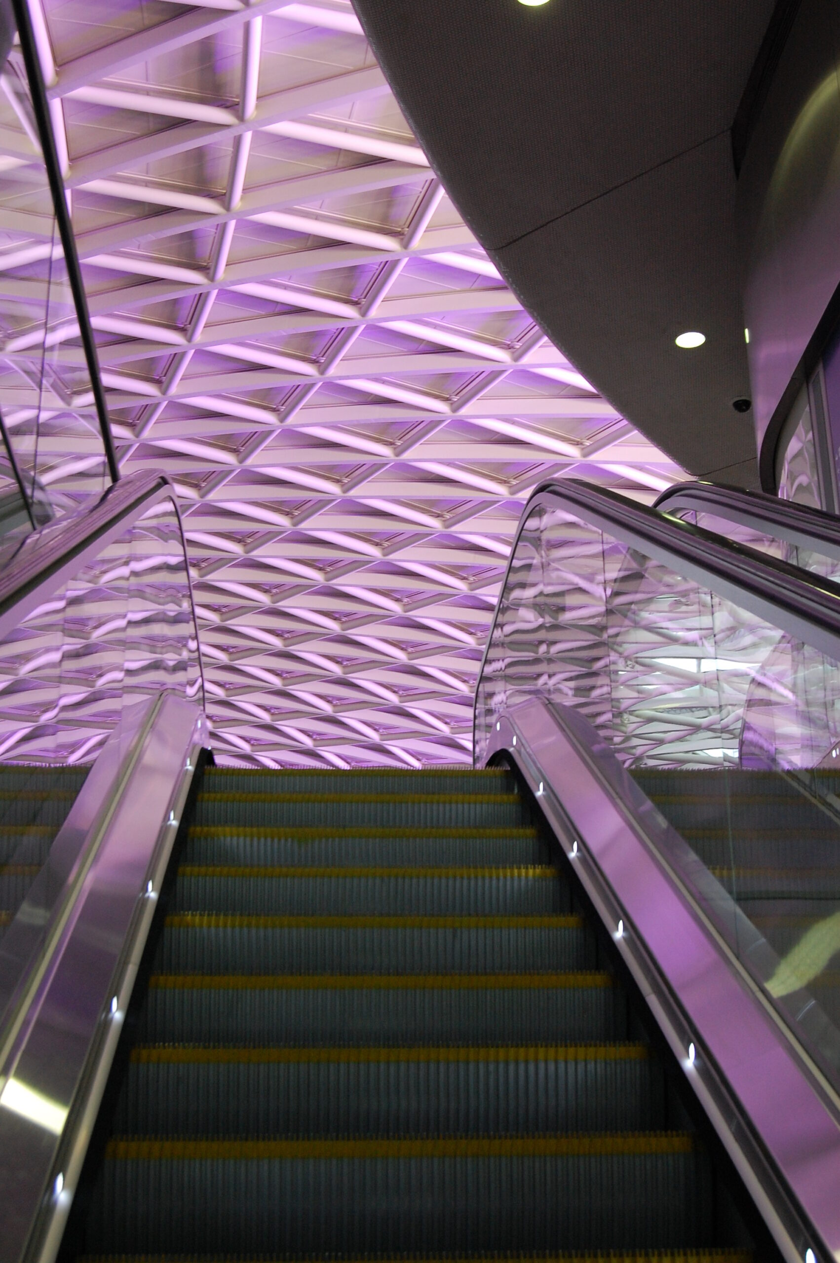 King's Cross - the view from the escalator