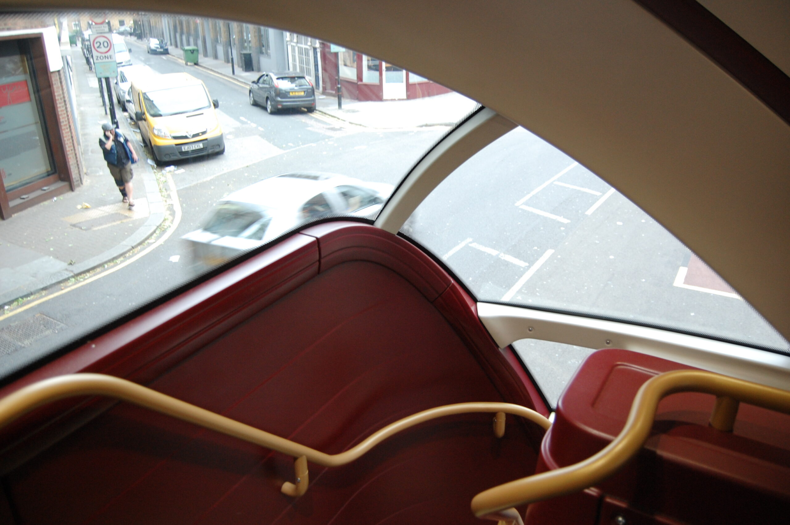 Looking down the stairs of the Borismaster