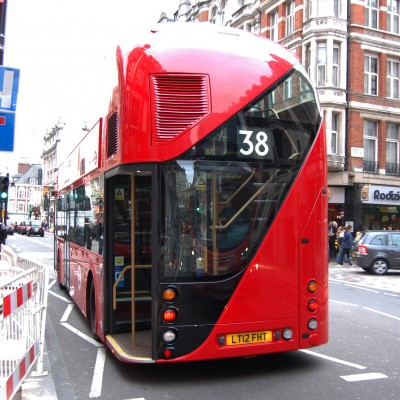 Rear of LT6, one of the prototypes of the beautiful New Bus for London, also lovingly known as the 'Borismaster'...
