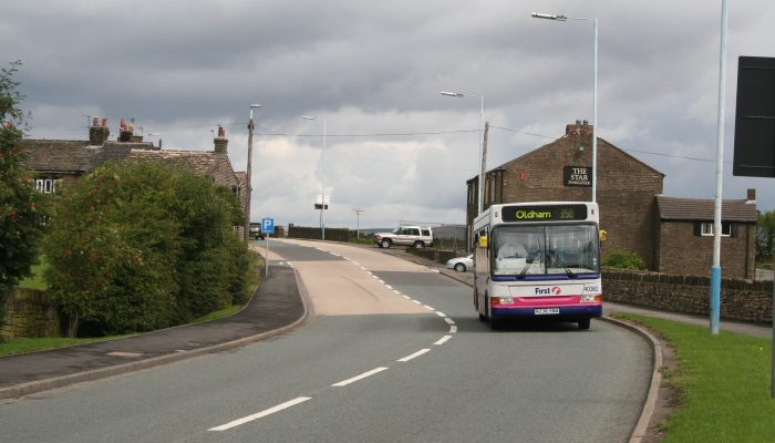 Tameside bus 350