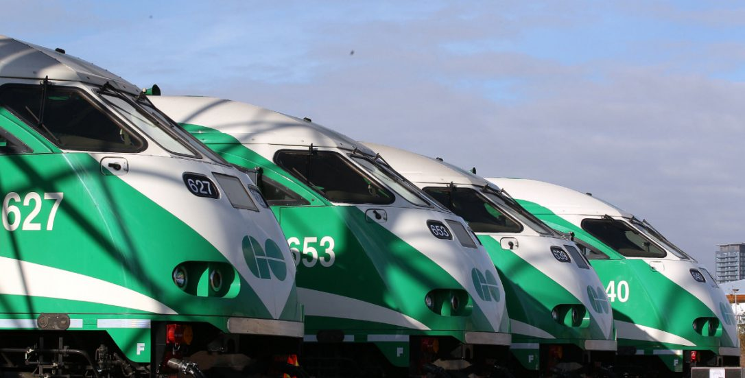 A lean, green, well-branded transport machine – Toronto's GO Transit