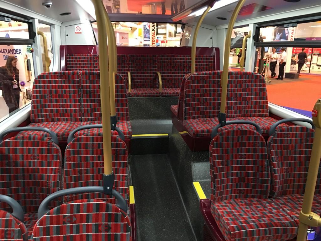 E400H interior