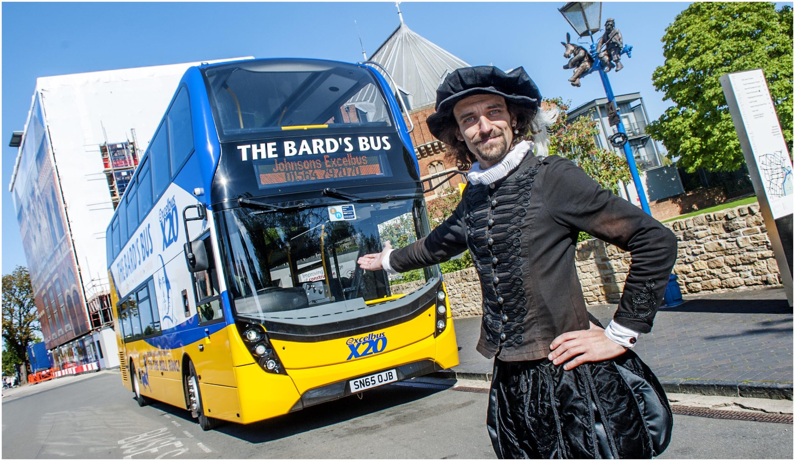 #AYearOfBuses 20: The Bard's Bus Stratford – Birmingham