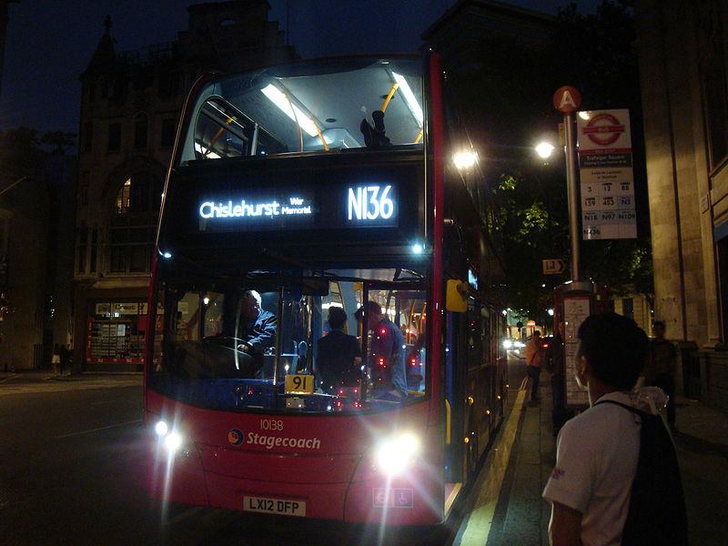 #AYearOfBuses 136: N136 Oxford Circus – Chislehurst