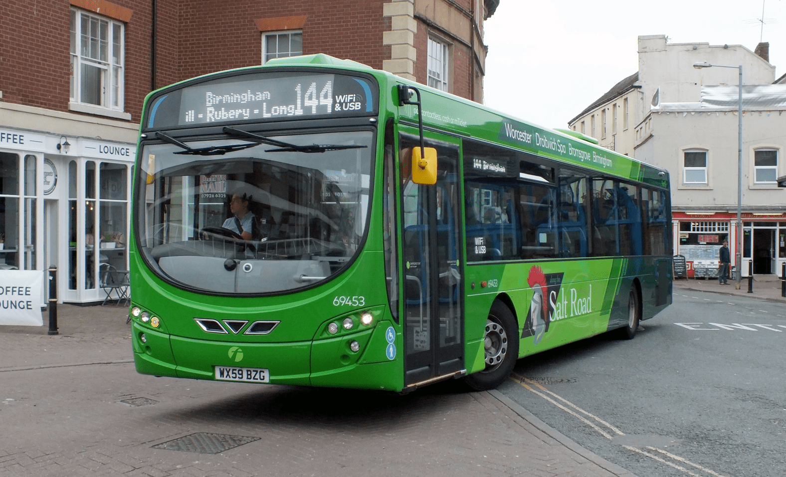 #AYearOfBuses 144: The Salt Road Birmingham – Worcester