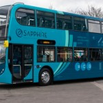 Sapphire exterior livery - classic Stenning. Image credit: thebuspeople.co.uk