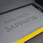 Sapphire wheelchair ramp branding. Image credit: thebuspeople.co.uk