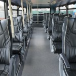 Sapphire leather seating. Image credit: thebuspeople.co.uk