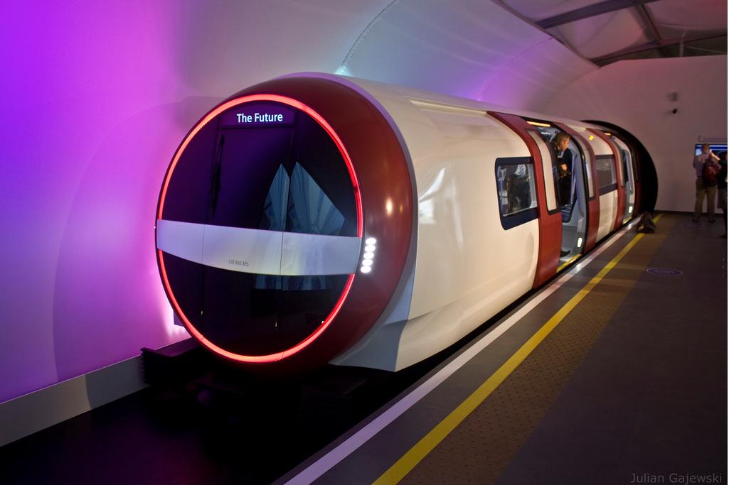 The Siemens Inspiro mock-up at the Crystal in Royal Victoria Dock. Image credit: Julian Gajewski on Flickr.