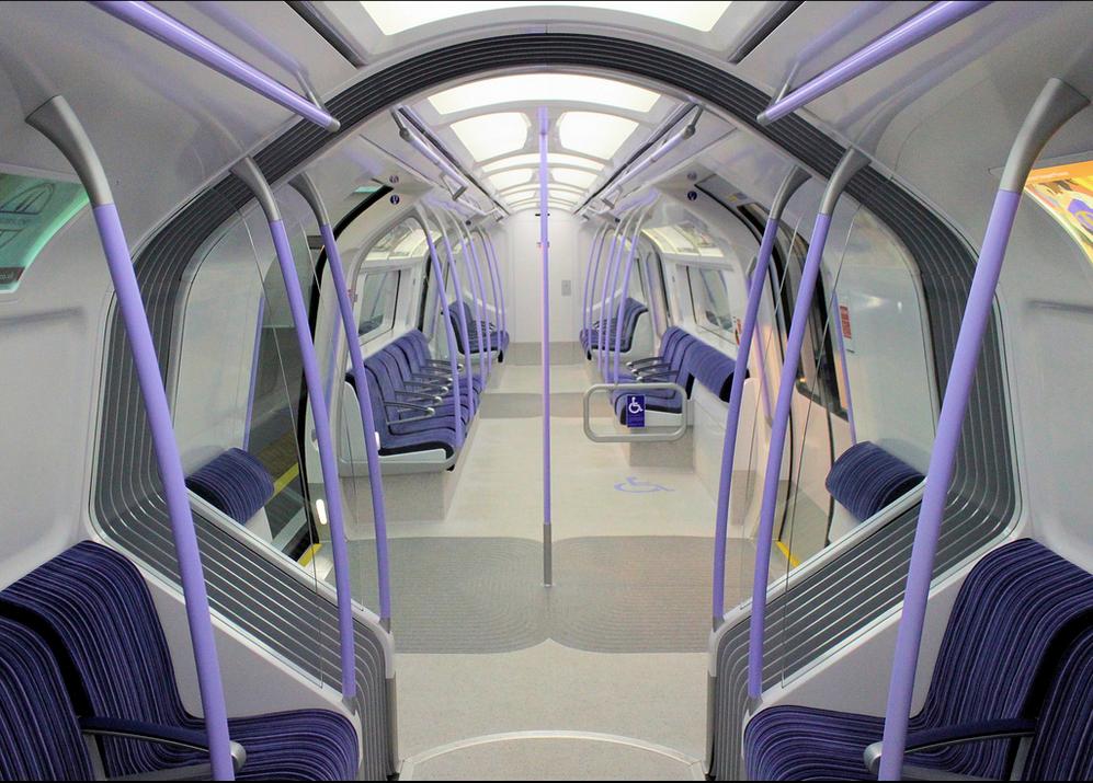 Interior of the Siemens Inspiro concept. Image credit: bowroaduk on Flickr.