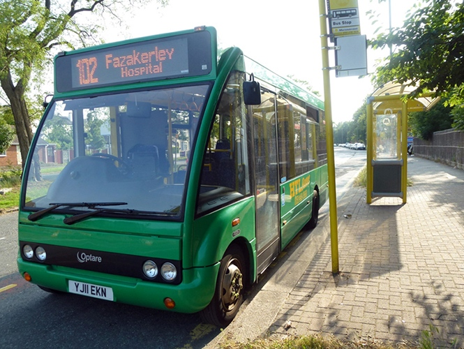 #AYearOfBuses 102: Aintree – Broadgreen