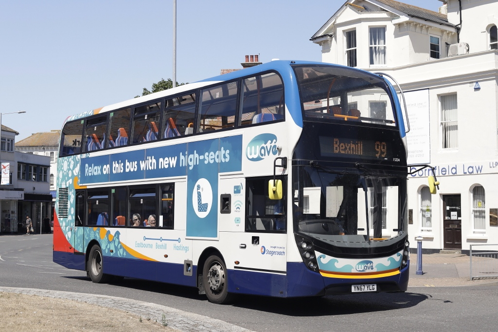 #AYearOfBuses 99: Wave Eastbourne – Hastings