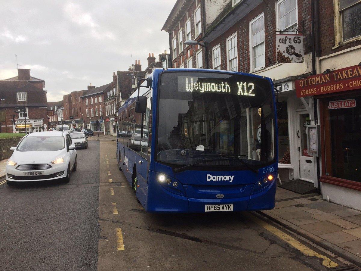 #AYearOfBuses 183: X12 Weymouth – Blandford