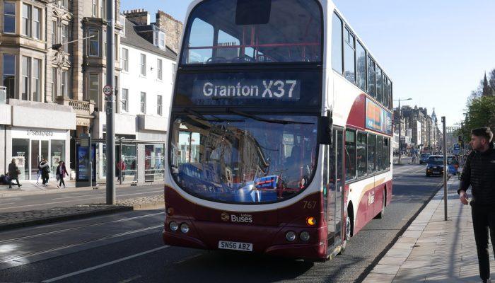 Lothian bus x37