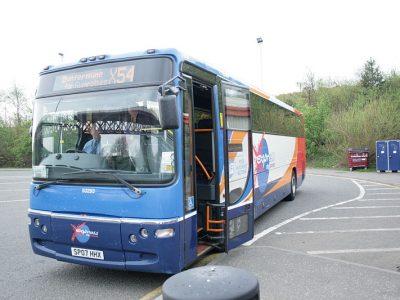 Stagecoach bus x54