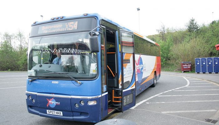 Stagecoach bus x54