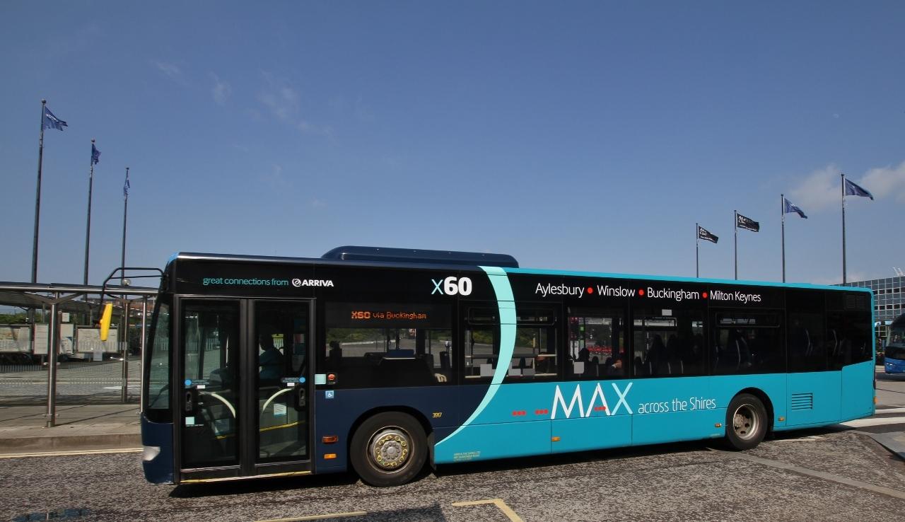 #AYearOfBuses 260: MAX Aylesbury – Milton Keynes