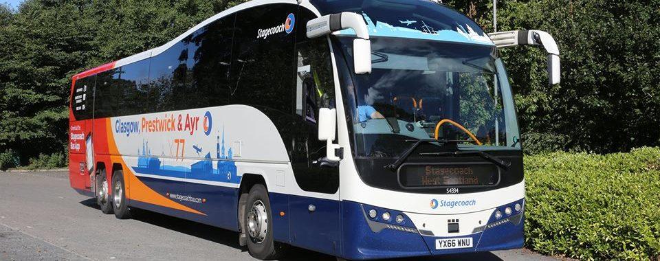 Stagecoach Glasgow X77