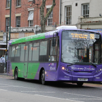 ADL Enviro 200 373 (YX13 AEP), branded for Nottingham Network service 87/88.